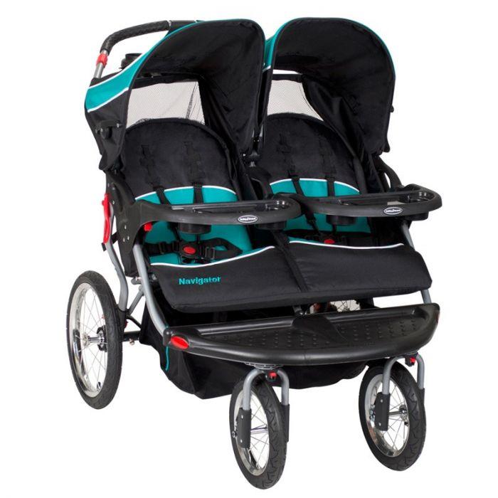 baby Navigator Double Stroller