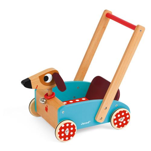 Janod Crazy Doggy Cart walker