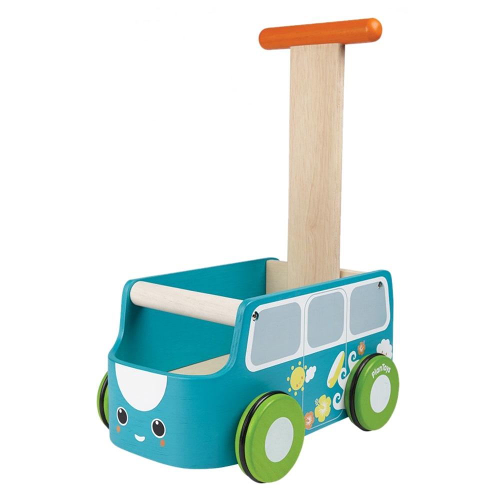 plan baby push toys van walker