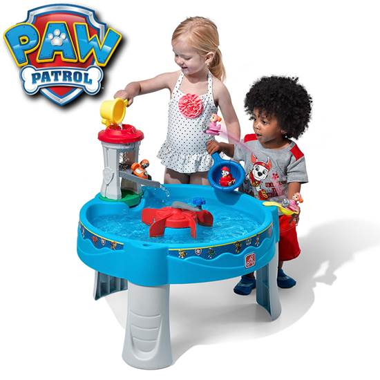 Paw Patrol Sea Patrol Water Activity Table
