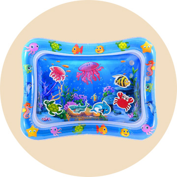 MAGIFIRE Tummy Time Baby Water Play Mat