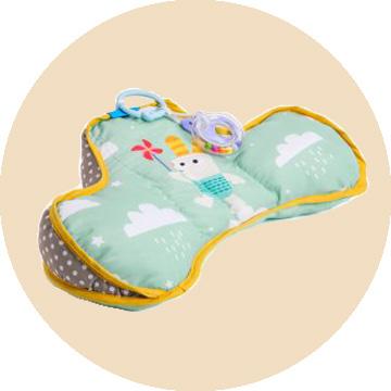 Best Pillow for Newborn with Ergonomic Development Toys