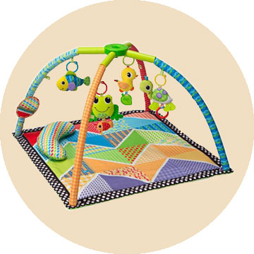 Infantino Twist and Fold Activity Gym