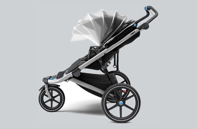 Sunshade of glide 2 stroller