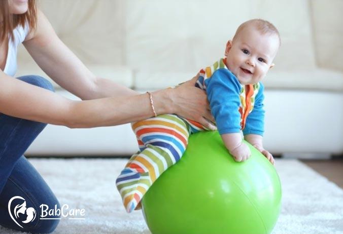 Peanut ball exercise