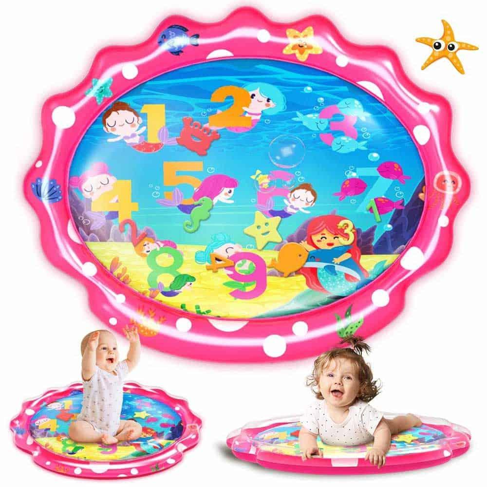 SEETOYS 30″x 24.4″ Mermaid Water Mat