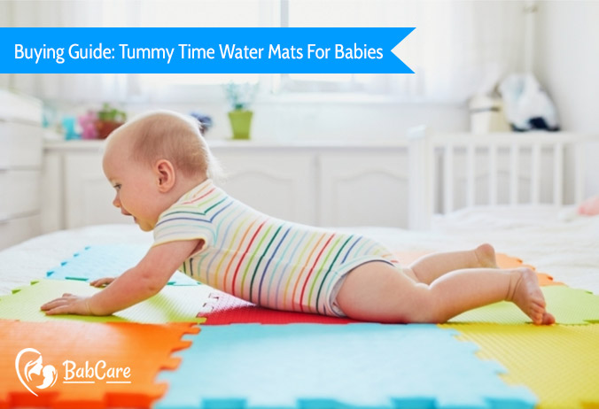 best tummy time water mats