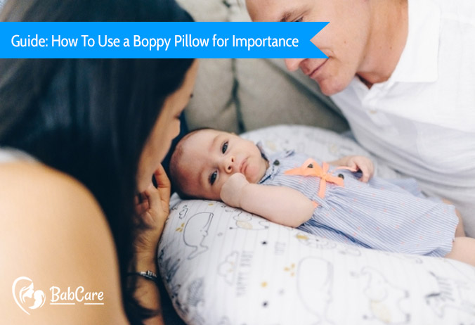 how to use a boppy pillow